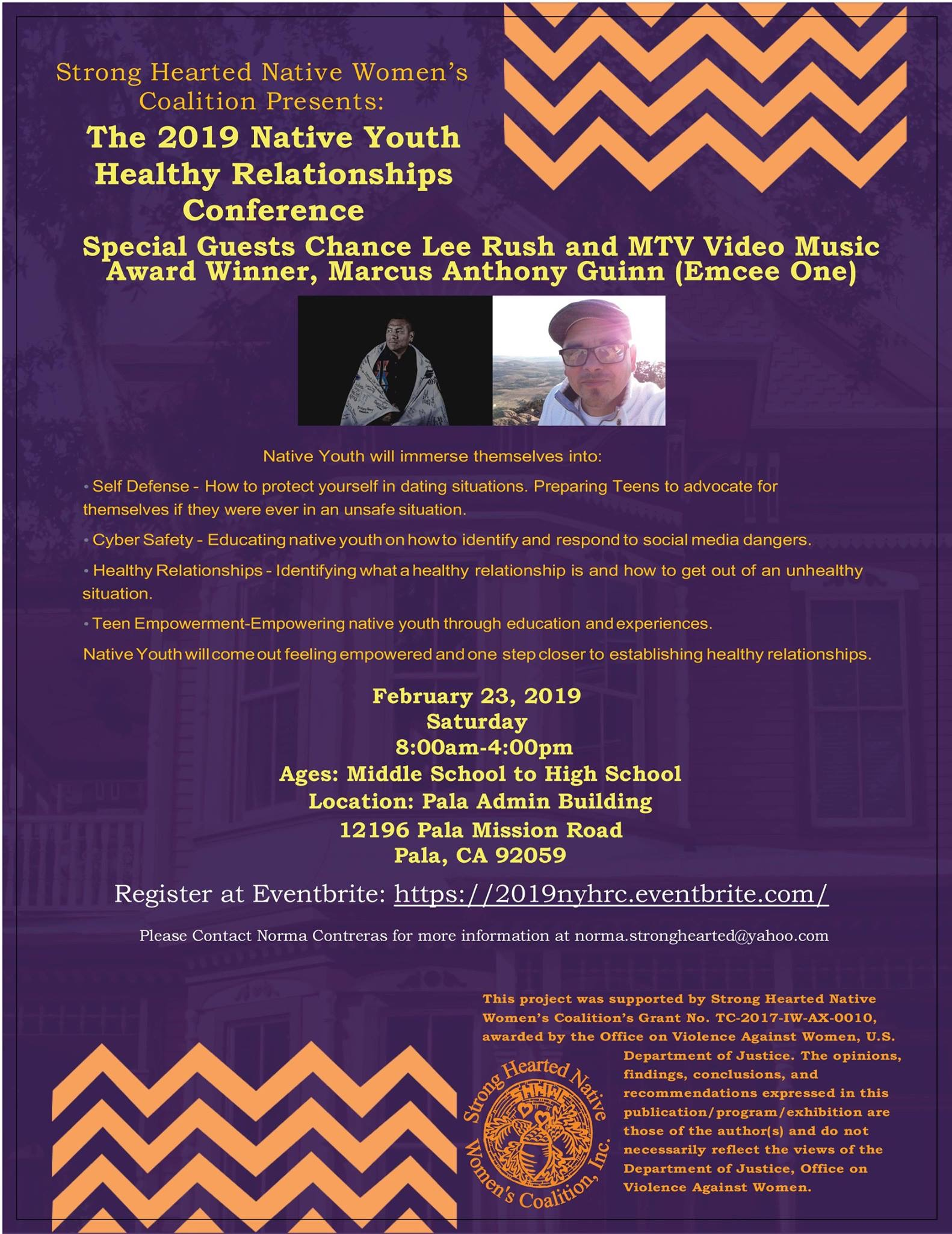 The 2019 Native Youth Healthy Relationships Conference – SCTCA