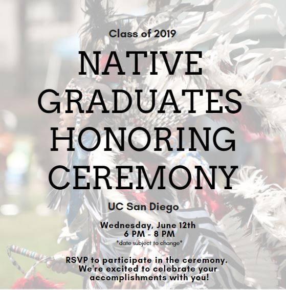 Class of 2019 Native Graduates Honoring Ceremony – SCTCA
